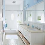 Phòng tắm hiện đại cũng cần phong thủy